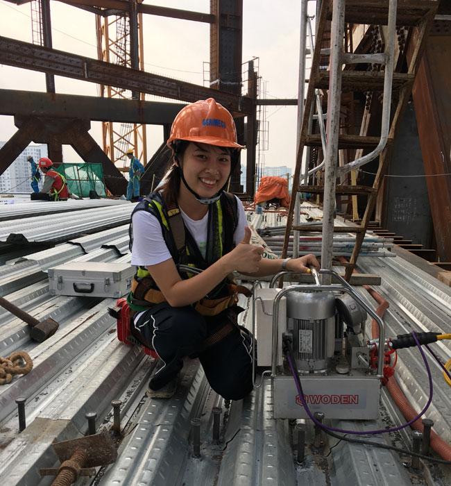 赢咖4越南钢结构用户