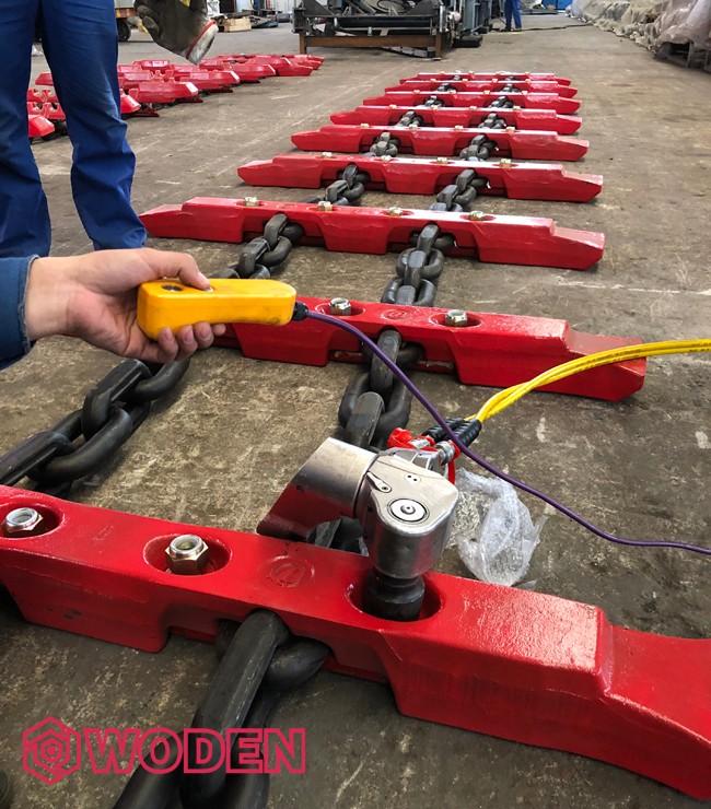 赢咖4扭矩扳手应用于山西某煤机制造厂
