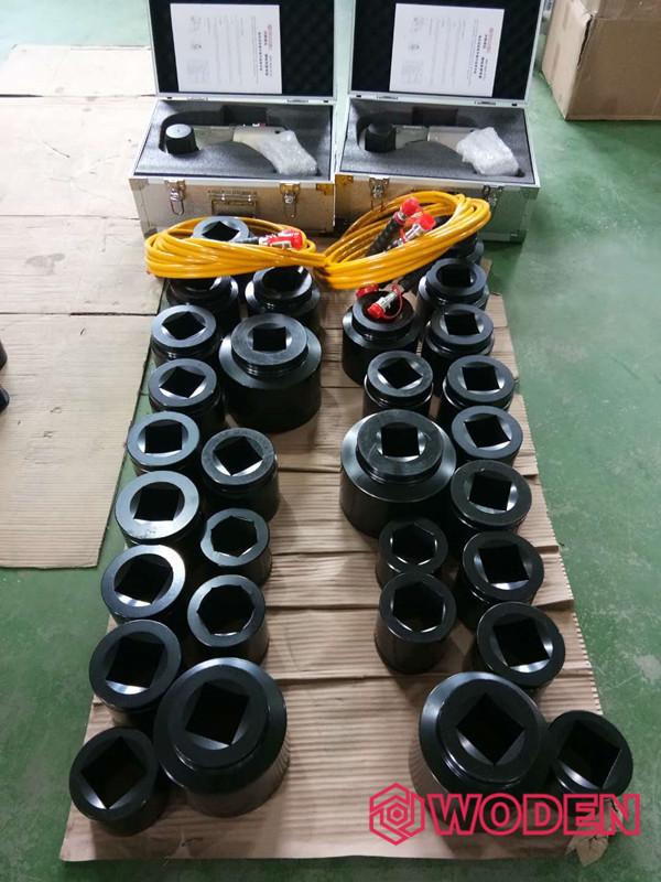 中化二建集团再次大批量订购赢咖4液压扳手用于文莱石油化工项目