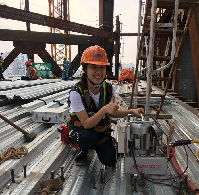 赢咖4越南钢结构客户