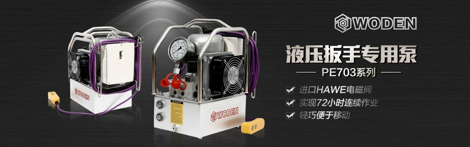 星辉PE系统HAWE进口电磁阀液压泵站